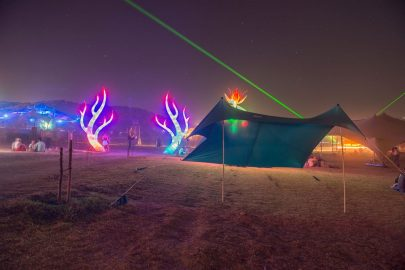 otentik sunshade at boom festival