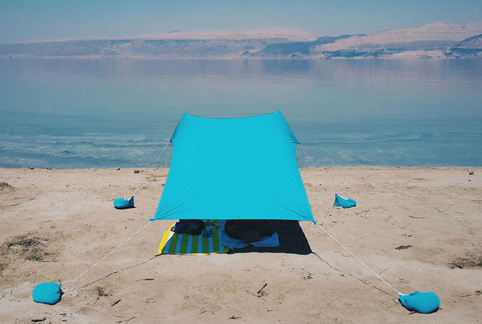 Small Sunshade For The Beach