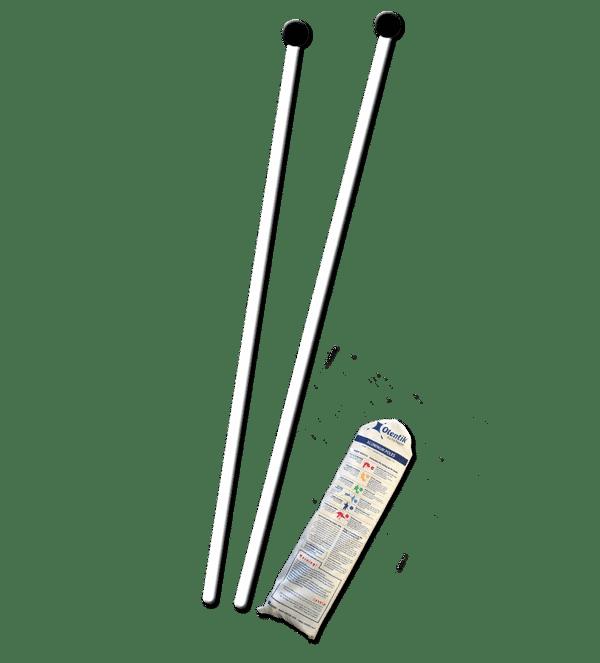 aluminium poles otentik